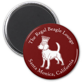 The Regal Beagle Lounge Magnet