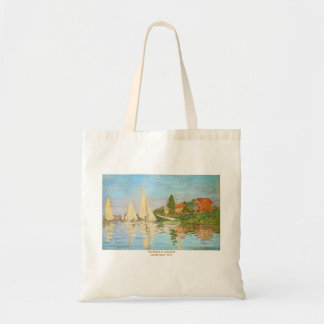 The Regatta at Argenteuil by Claude Monet Tote Bag
