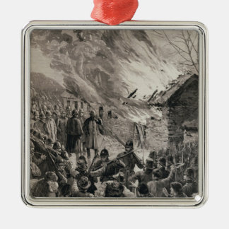 The Rent War in Ireland Christmas Ornament