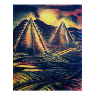 The Resting Place Pyramids Posters