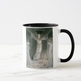 The Resurrection: The Angels rolling away the Ston Mug