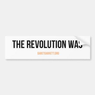 The Revolution Was Sticker