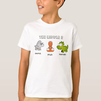 The Riddle 3 as Dinosaurs T-Shirt