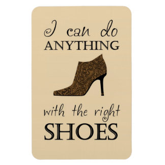 The Right Shoes Vinyl Magnets
