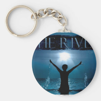 The River Fellowship Basic Round Button Key Ring