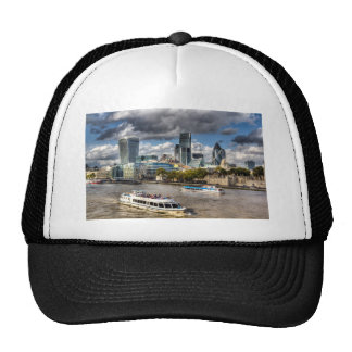 The River Thames Trucker Hats