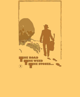 The Road, The Weed, The Stones (no 1) T-shirt