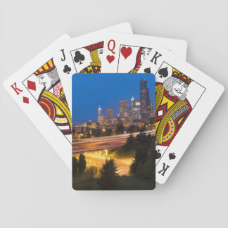 The road to Seattle Playing Cards