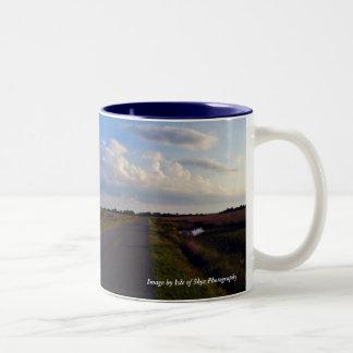 The Road to Zen Two-Tone Coffee Mug