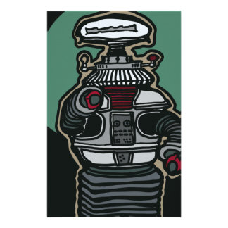 The Robot (B-9) Stationery
