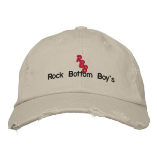The Rock Bottom Boy's Cap #1 Baseball Cap