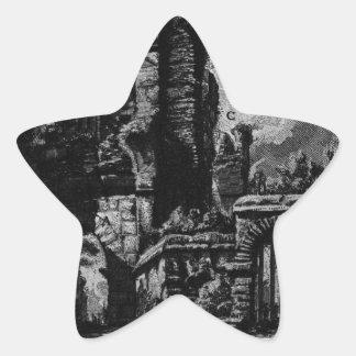 The Roman antiquities, t. 1, Plate XXV. Nero`s aqu Star Sticker