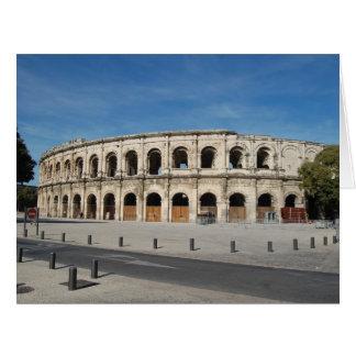 The Roman Coliseum Nimes Card