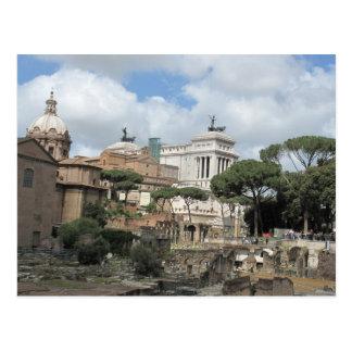 The Roman Forum - Latin Forum Romanum Post Card