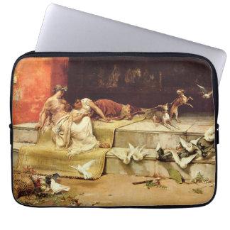 The Roman Maidens by Juan Luna. Laptop Sleeve