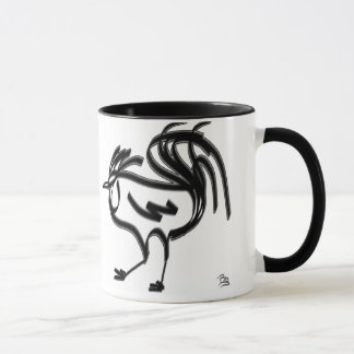 The Rooster in Chinese astrology. Mug