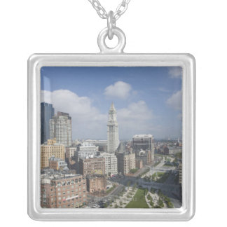 The Rose Kennedy Greenway of Boston, M Silver Plated Necklace