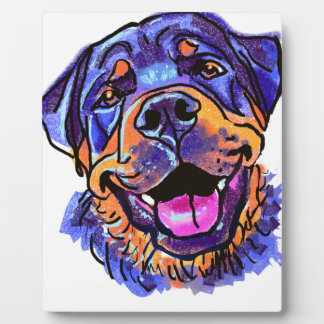 The Rottweiler Love of My Life Plaque
