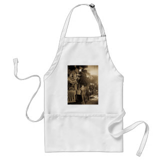 The Roundhouse Rosies of World War I Vintage Standard Apron