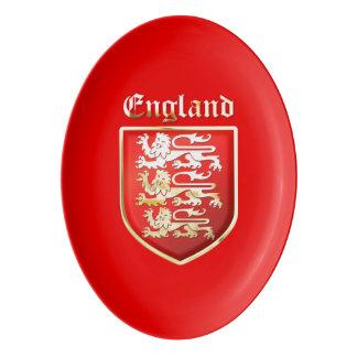 The Royal Arms of England Porcelain Serving Platter