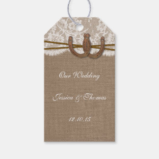 The Rustic Horseshoe Collection Tags