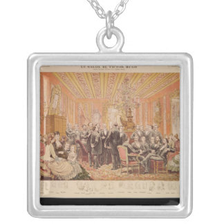 The Salon of Victor Hugo Silver Plated Necklace