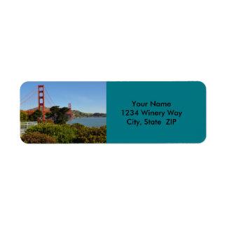 The San Francisco Golden Gate Bridge in California