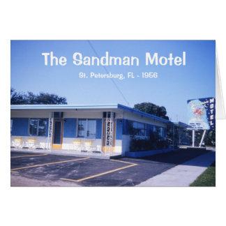 The Sandman Motel Card