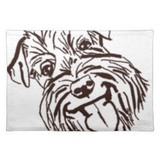 The Schnauzer Love of My Life Placemat