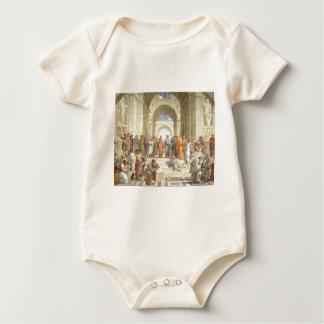 The School of Athens Baby Bodysuit