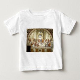 The School of Athens Fresco by Raffaello Sanzio Baby T-Shirt