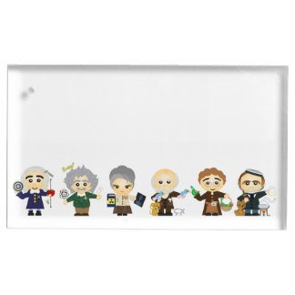 The Scientists Table Card Holders