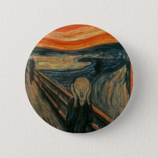 The Scream 6 Cm Round Badge