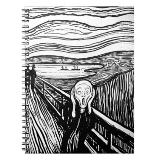 The Scream by Edvard Munch Note Books