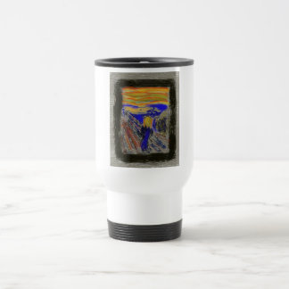 The Scream Travel Mug