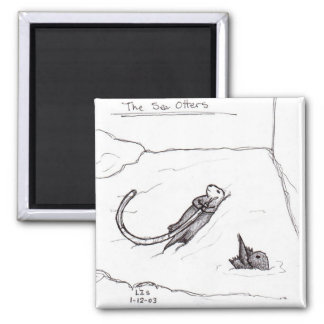 The Sea Otters magnet