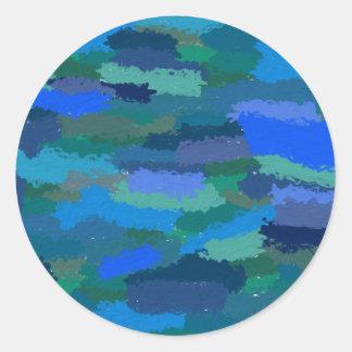 The Sea Round Sticker