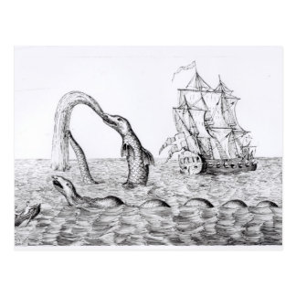 The Sea Serpent Post Card