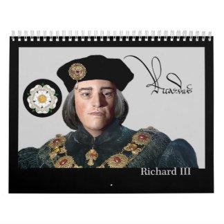 The Second Coming of Richard III Calendar