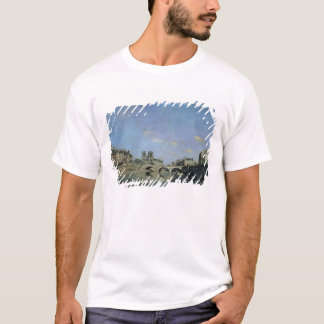 The Seine and Notre Dame in Paris, 1864 T-Shirt