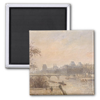 The Seine and the Louvre, 1903 Magnet