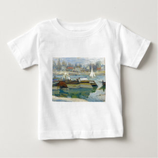 The Seine at Asnieres by Claude Monet Baby T-Shirt