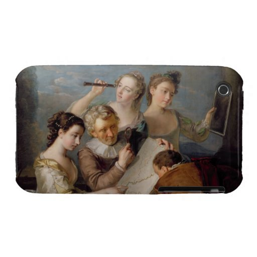 The Sense of Sight, c.1744-47 (oil on canvas) iPhone 3 Cover