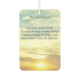 the serenity prayer air freshener