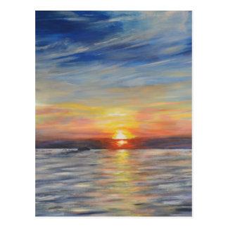 The Setting Sun Postcard