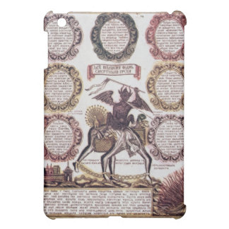 The Seven Deadly Sins (engraving) iPad Mini Cover