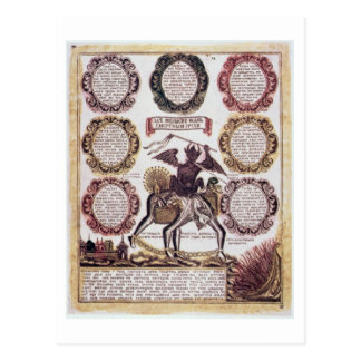 The Seven Deadly Sins (engraving) Postcard