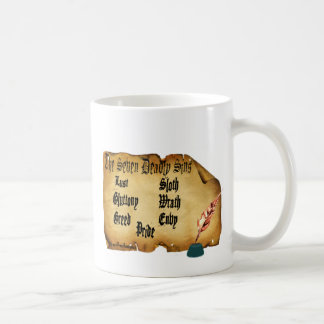 The Seven Deadly Sins Basic White Mug