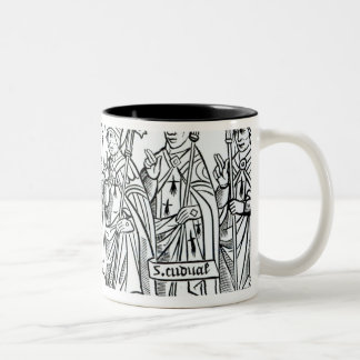 The Seven Saints of Brittany Two-Tone Coffee Mug