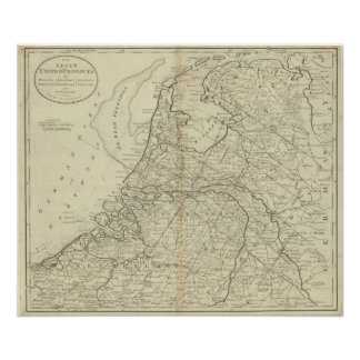 The Seven United Provinces of Holland 2 Poster